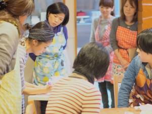 日本アイシングクッキー協会 講座風景