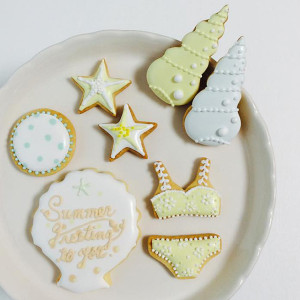 日本アイシングクッキー協会 六本木ヒルズSummerワークショップ1