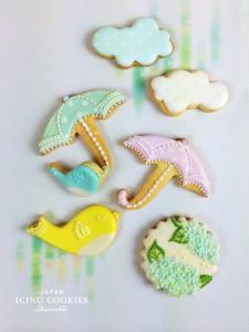 日本アイシングクッキー協会 六本木ヒルズ rain1